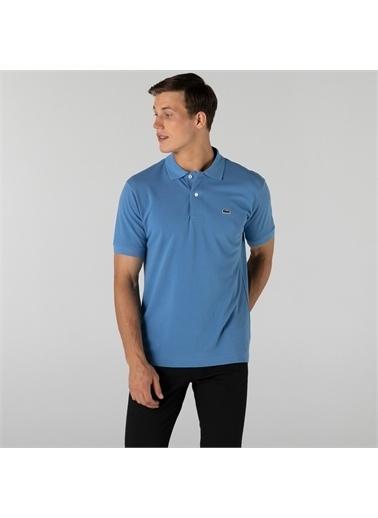 Lacoste Lacoste Erkek Classic Fit L1212 Mavi Polo Mavi
